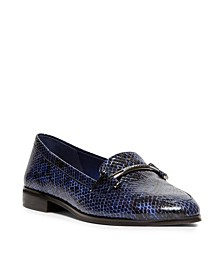 Dezso Snake Printed Loafers