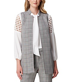 Long Glen Plaid Vest
