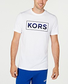 Men's Ombre Logo Graphic T-Shirt, Created for Macy's