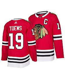 adidas Men's Jonathan Toews Chicago Blackhawks Authentic Player Jersey