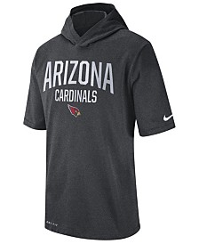 Nike Men's Arizona Cardinals Dri-FIT Training Hooded T-Shirt