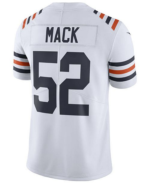 competitive price f09fd 14ce4 Men's Khalil Mack Chicago Bears Vapor Untouchable Limited Jersey