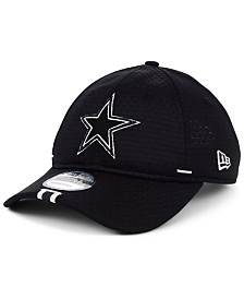 New Era Dallas Cowboys 2019 Training Black 9TWENTY Strapback Cap