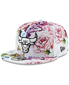New Era Chicago Bulls Funky Floral 9FIFTY Cap