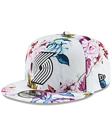New Era Portland Trail Blazers Funky Floral 9FIFTY Cap