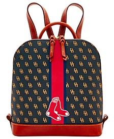 Boston Red Sox Zip Pod Stadium Signature Backpack