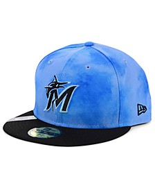 Miami Marlins Father's Day 59FIFTY Cap