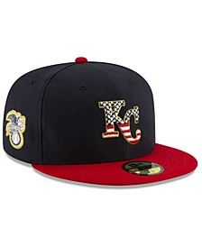 Boys' Kansas City Royals Stars and Stripes 59FIFTY Cap