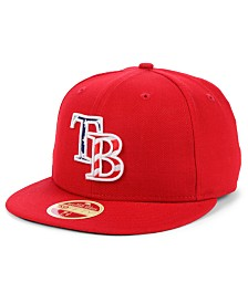 New Era Tampa Bay Rays Retro 2009 Stars and Stripes 59FIFTY Fitted Cap