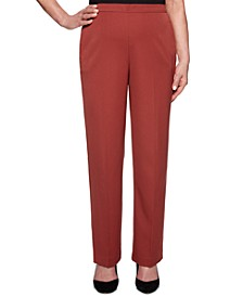 Cedar Canyon Twill Straight-Leg Pull-On Pants