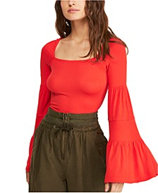 Babetown Bell-Sleeve Top