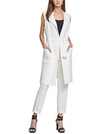 DKNY Belted Vest