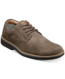 Men's Barklay Plain-Toe Lace-Up Oxfords