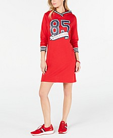 85 Hoodie Sweatshirt Dress