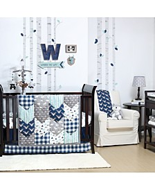 Woodland Trail 4-Piece Crib Bedding Set