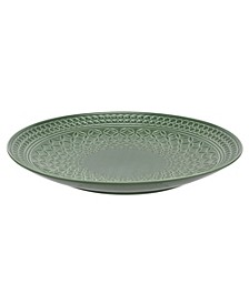 "Atrium 12"" Embossed Low Bowl"