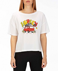 Juniors' Cotton Van Vibes Graphic T-Shirt
