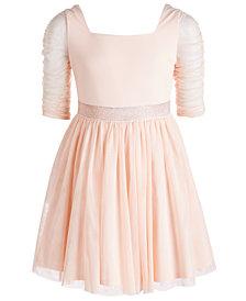 Sequin Hearts Big Girls Ballerina Dress
