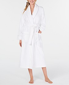 Luxe Cotton Terry Wrap Robe, Created for Macy's