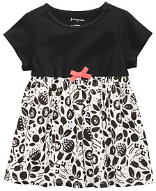 First Impressions Baby Girls Cotton Contrast-Print Tunic, Created for Macy's