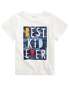 First Impressions Baby Boys Best Kid-Print Cotton T-Shirt, Created for Macy's