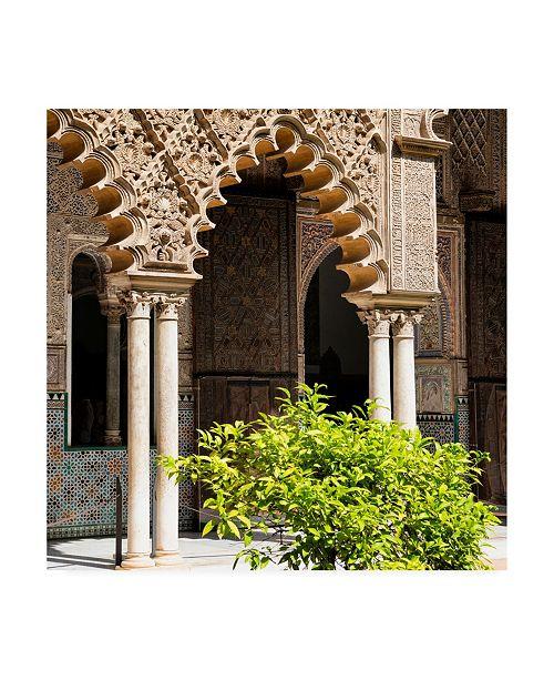 "Trademark Global Philippe Hugonnard Made in Spain 3 Arabic Arches Canvas Art - 15.5"" x 21"""