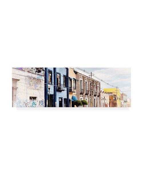"Trademark Global Philippe Hugonnard Viva Mexico 2 Mexican Street VI Canvas Art - 19.5"" x 26"""