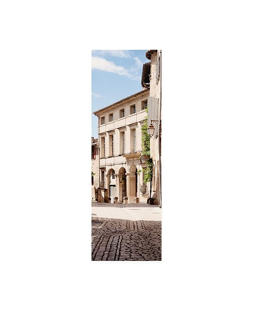 "Trademark Global Philippe Hugonnard France Provence 2 French Facade Canvas Art - 15.5"" x 21"""