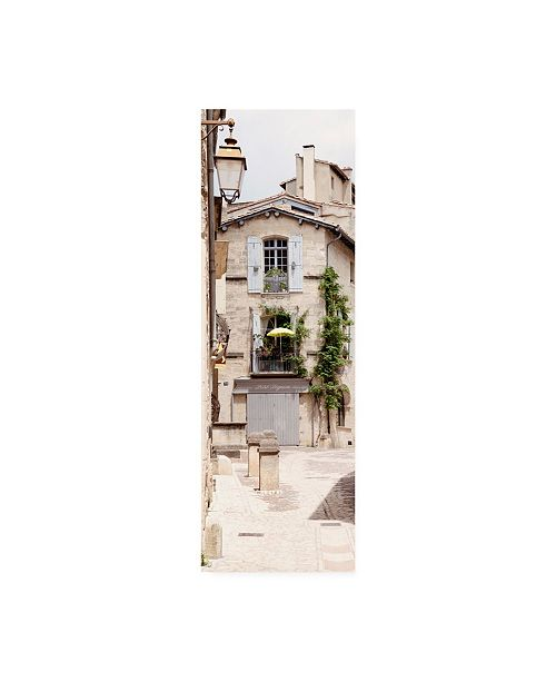 "Trademark Global Philippe Hugonnard France Provence 2 French Street Canvas Art - 27"" x 33.5"""