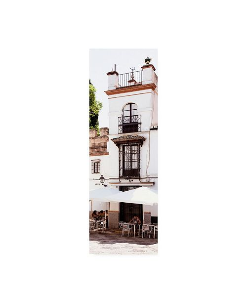 "Trademark Global Philippe Hugonnard Made in Spain 2 Spanish Shaded Terrace Canvas Art - 15.5"" x 21"""