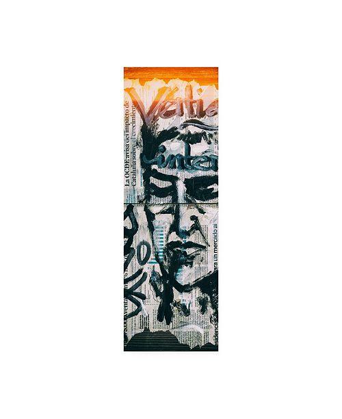 "Trademark Global Philippe Hugonnard Made in Spain 2 Graffiti Wall Paper II Canvas Art - 27"" x 33.5"""