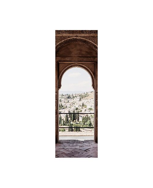"""Trademark Global Philippe Hugonnard Made in Spain 2 View of the city of Granada II Canvas Art - 15.5"""" x 21"""""""