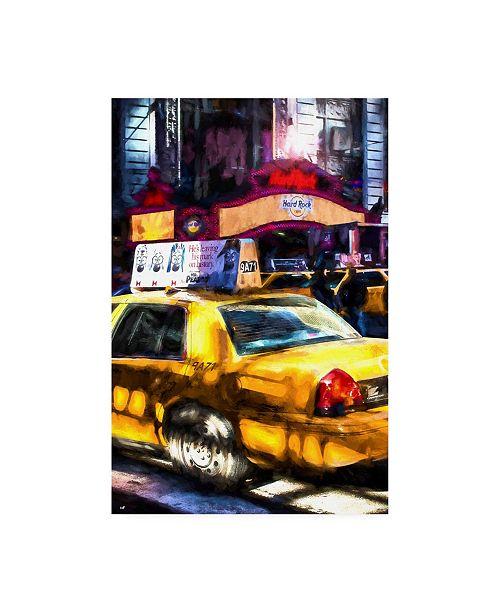 "Trademark Global Philippe Hugonnard NY Taxi Canvas Art - 27"" x 33.5"""