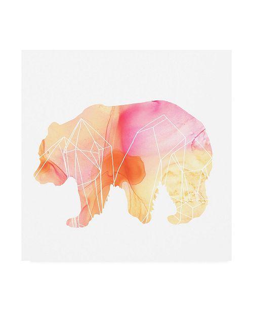 "Trademark Global June Erica Vess Agate Animal I Canvas Art - 36.5"" x 48"""