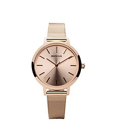 Ladies' Classic Stainless Steel Mesh Watch