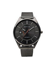 Men's Automatic Multifunction Stainless Steel Mesh Watch