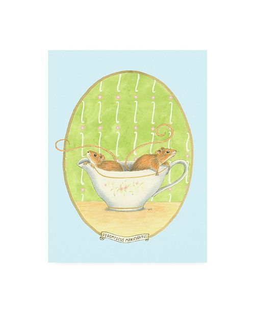 """Trademark Global Virginia A. Roper Unexpected Guests IV Childrens Art Canvas Art - 19.5"""" x 26"""""""