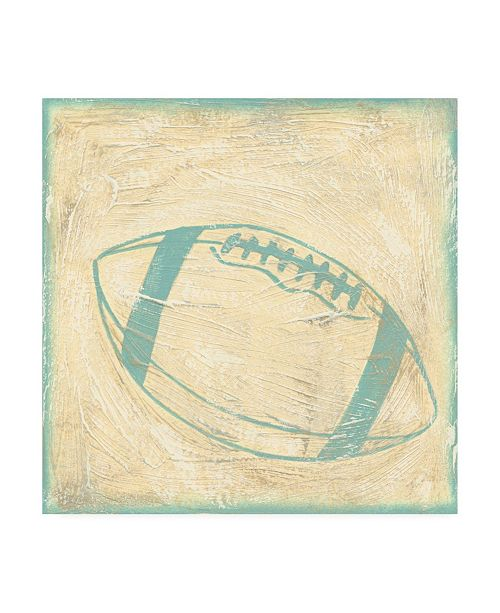 "Trademark Global Chariklia Zarris Football Rules Canvas Art - 15.5"" x 21"""