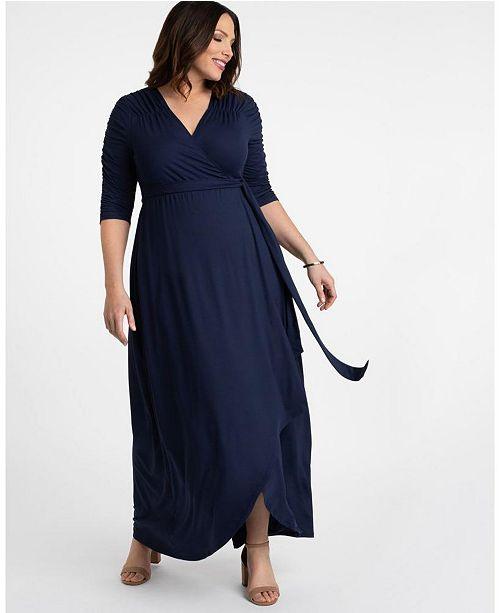 Kiyonna Women\'s Plus Size Meadow Dream Maxi Dress ...