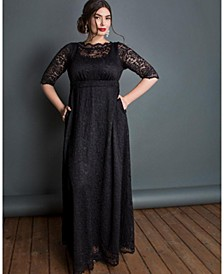 Women's Plus Size Leona Lace Gown