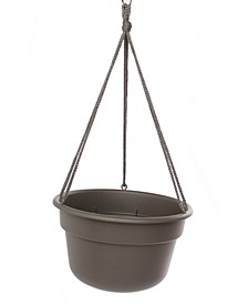 "12"" Dura Cotta Hanging Basket"