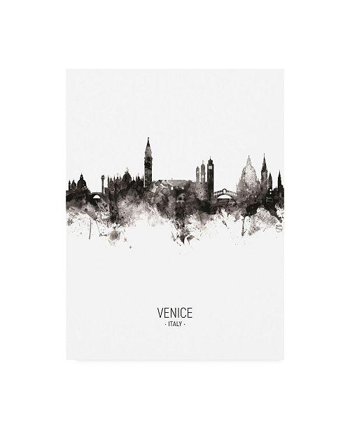 "Trademark Global Michael Tompsett Venice Italy Skyline Portrait II Canvas Art - 19.5"" x 26"""