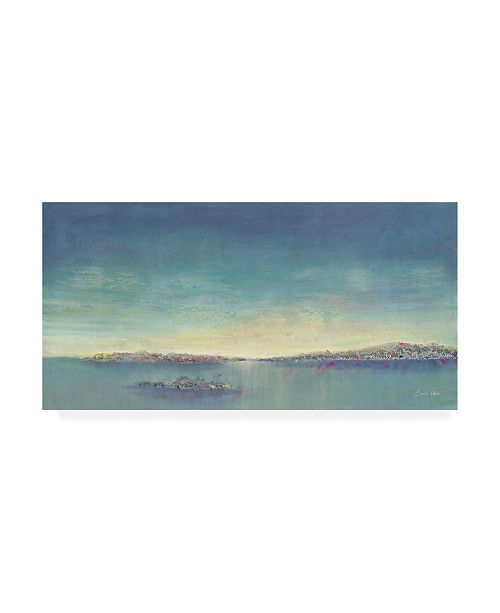 "Trademark Global Samin Chase Tranquility I Canvas Art - 19.5"" x 26"""