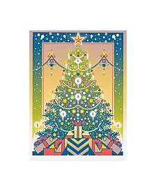 "David Chestnutt Christmas Tree Gifts Canvas Art - 15.5"" x 21"""