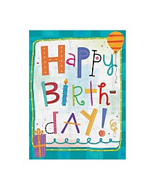 """Holli Conger Sprouted Wisdom Birthday Canvas Art - 36.5"""" x 48"""""""