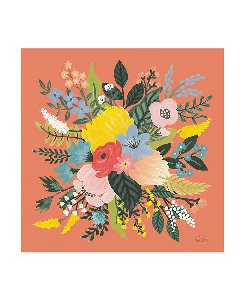 "Trademark Global Laura Marshall Wild Garden VIII Canvas Art - 36.5"" x 48"""