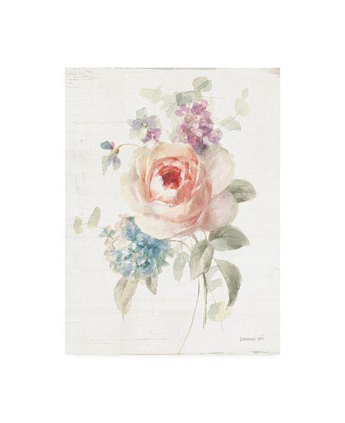 "Trademark Global Danhui Nai Cottage Garden III Canvas Art - 15.5"" x 21"""