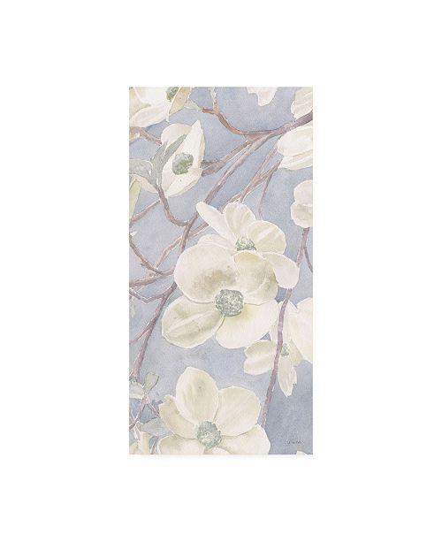 "Trademark Global James Wiens Breezy Blossoms II Sage Canvas Art - 36.5"" x 48"""