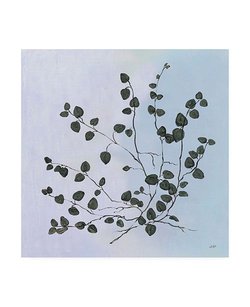 "Trademark Global Julia Purinton Botanical Study VII Blue Canvas Art - 19.5"" x 26"""