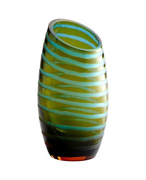 Cyan Design Large Angle Cut Chiseled Vase
